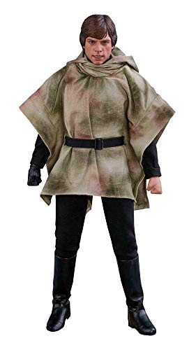 Figura Luke Skywalker Endor 28 cm. Star Wars Episode VI. Escala 1:6....