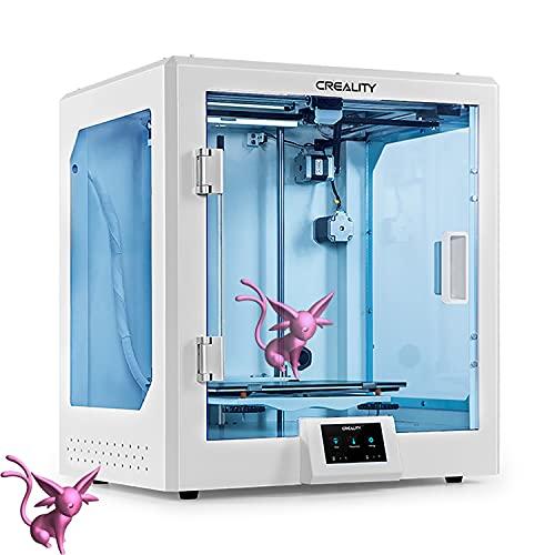YILUFA Creealidad CR-5 Pro Impresora 3D 4.3in Pantalla Táctil con Placa Base Silenciosa Carborundum Plataforma De Cristal Impresora De Impresión Creativa 300x225x380mm