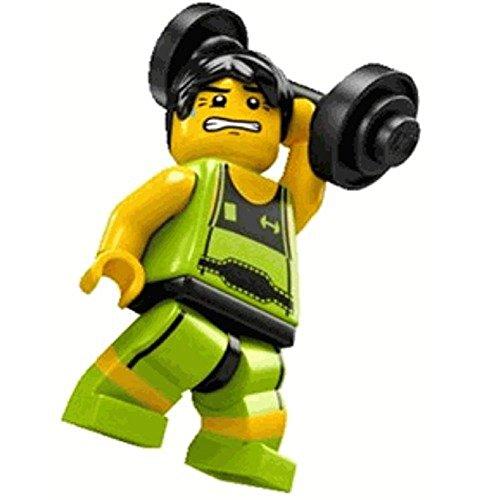 LEGO Figurines à Collectionner: Haltérophile Mini-Figurine (Série 2) (Dans Un Sac)