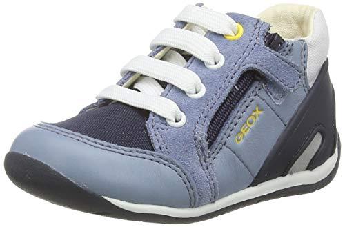 Geox B Each Boy B, Baskets, Bleu (Lt Jeans/Navy Ca4f4), 23 EU