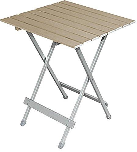 BRUNNER Alu Klapptisch Beistelltisch Tisch Twist XL Braun
