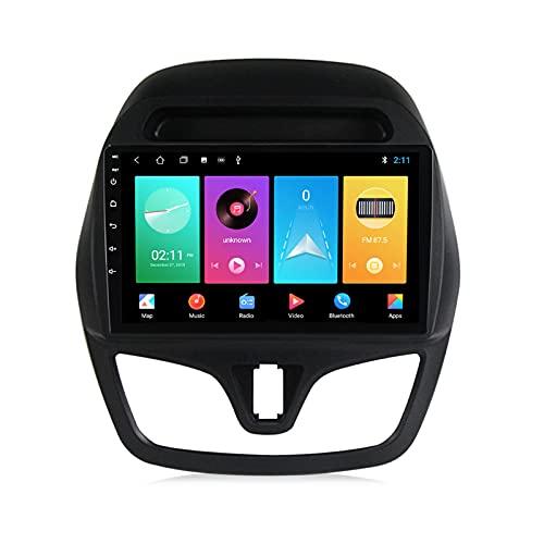 ADMLZQQ para Chevrolet Spark Beat 2015-2018 Android 10.0 Radio Coche Car Stereo Player 9 Pulgadas Pantalla Táctil Carplay FM Am Bluetooth DSP Cámara Trasera Control del Volante,M100s 4core 1+16g