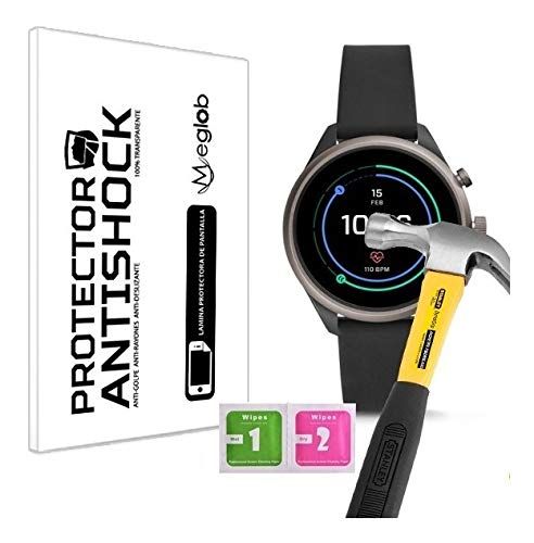 Screen protector Anti-Shock Anti-scratch Anti-Shatter compatibel met Fossil Sport Smartwatch 41mm