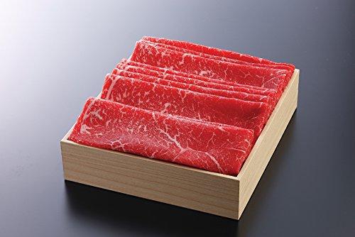 《三重県産》松阪牛(モモ) しゃぶしゃぶ 贈答用箱詰め (500g)