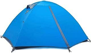 Tent خيمة التخييم مع المعدات سميكة من المطر اثنين زوجين زوجين خيمة الشمس تظليل خيمة التخييم المشي لمسافات طويلة تسلق الجبال