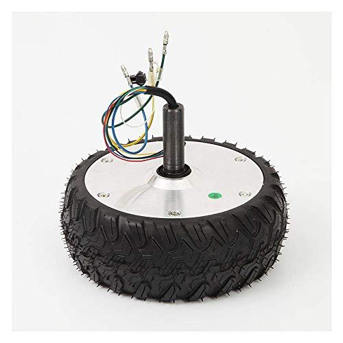 Zubehör für Elektroroller, 6,5-Zoll-bürstenloser 250-W-Hallmotor, geräuscharm und leistungsstark, Offroad-Reifen, geeignet zum Auswuchten von Ersatzmotorrädern für Motorroller