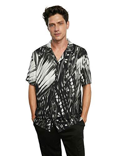 Desigual CAM_AGILEO Camiseta, Negro, S para Hombre
