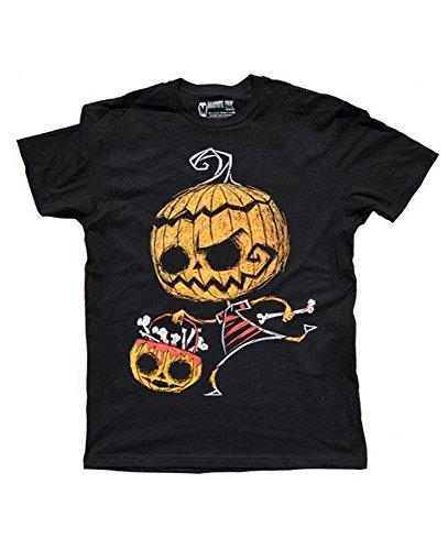 Akumu Ink - Herren T-Shirt Bone Collector (Schwarz (S)