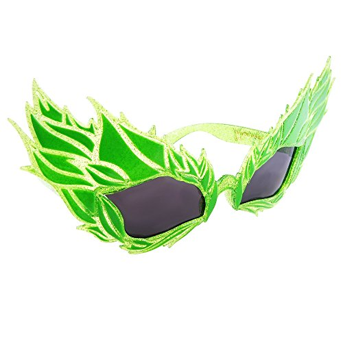 Sun-Staches Costume Sunglasses Poison Ivy Costume Party Favors UV400