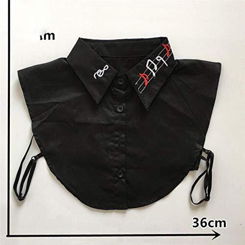 Mode-stijl Borduren Kanten Kraag ABS parel Naaien Hals DIY Shirt Valse kraag Trim Kledingaccessoires Knutselspullen, YL450