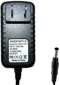 KHOI1971 Wall AC Power Adapter Compatible with 4-D Battery XT PFEL03717 PROFORM Hybrid Trainer XT Elliptical Recumbent Bike Power Supply AC Adapter NOT Created or Sold by PROFORM
