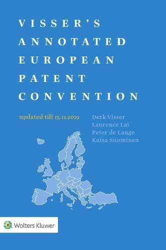Visser's Annotated European Patent Convention 2019