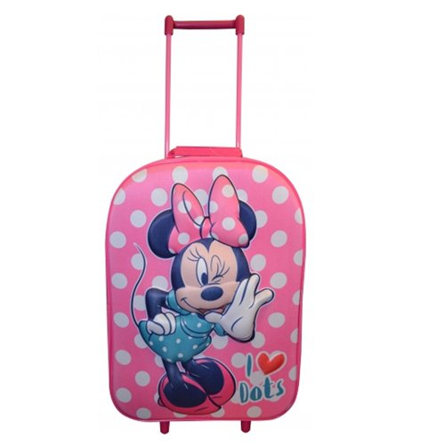 Sambro Minnie Mouse 3D Bag Trolley (Large)