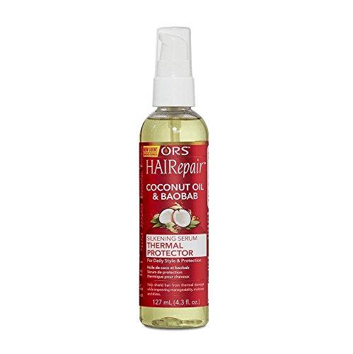 Price comparison product image ORS HAIRepair Coconut Oil & Baobab Silkening Serum Thermal Protector