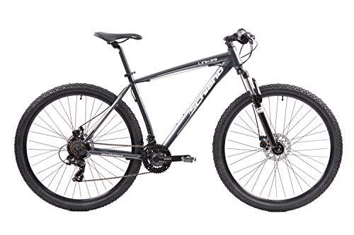 F.lli Schiano LINK29, Bici MTB Uomo, Antracite-Biacno, 29'