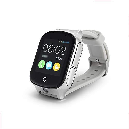 Montre de positionnement de Montre de téléphone Intelligent, Cadeau de Montre de téléphone à Cadran pour Enfants et Personnes âgées, Montre Intelligente pour Enfants à écran Tactile 3G