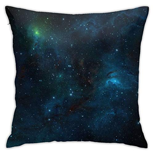 HPOFKEOEF Fantasy Star Galaxy Economical Family Pillow Cushion Office Sofa Decoration Back Cushion Without Pillow 18x18 Inch