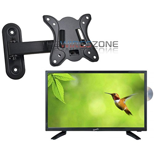 Best Price! Supersonic SC-1912 19 LED HDMI AC/DC Widescreen HDTV with DVD Player + Wall Mount