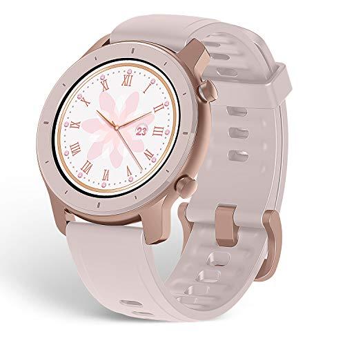Relógio inteligênte Smartwatch Amazfit GTR - Display AMOLED + GPS + Glonass (Rose 42MM)