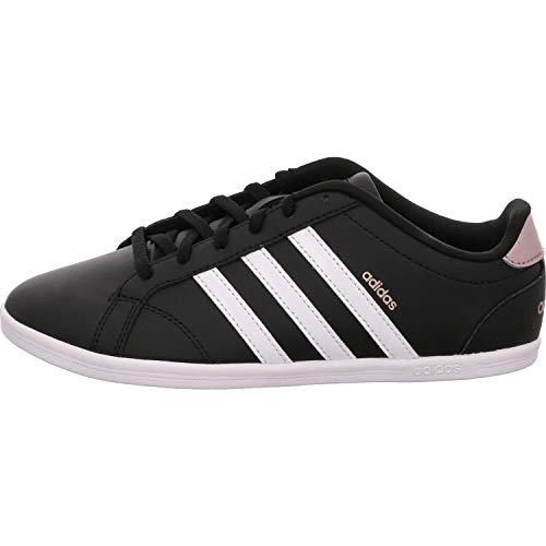 ADIDAS Vs Coneo Qt, Zapatillas de Deporte Mujer, Negro (Core Black/Footwear White/Vapour Grey Metallic 0), 38 EU
