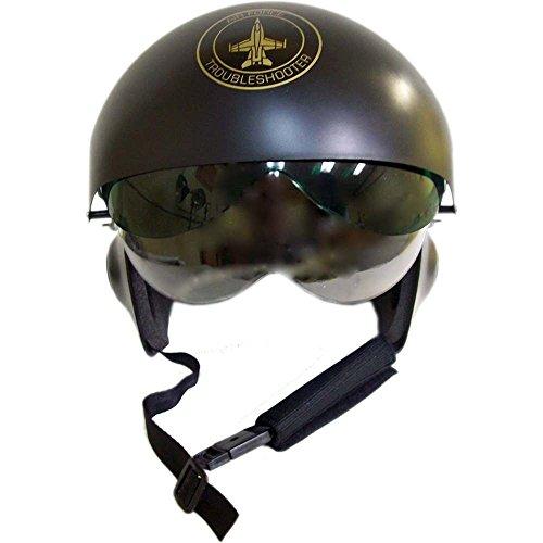 Fighter Pilot Helmet Black