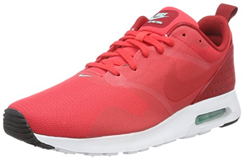 Nike Herren Air Max Tavas Sneakers, Rot (Action Red/Action Red-Gym red-white), 45 EU