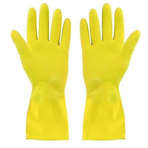 Elliott Gummi-Handschuhe, XL, gelb