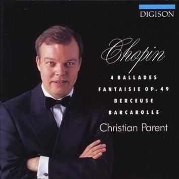 Chopin: 4 Ballades, Fantaisie Op. 49, Berceuse, Barcarolle