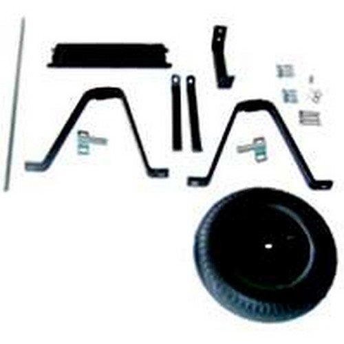 Mintcraft BOX-6SMB-OR Parts with Block Tire Steel Wheelbarrow Part for 6 Cubic Feet Wheelbarrow