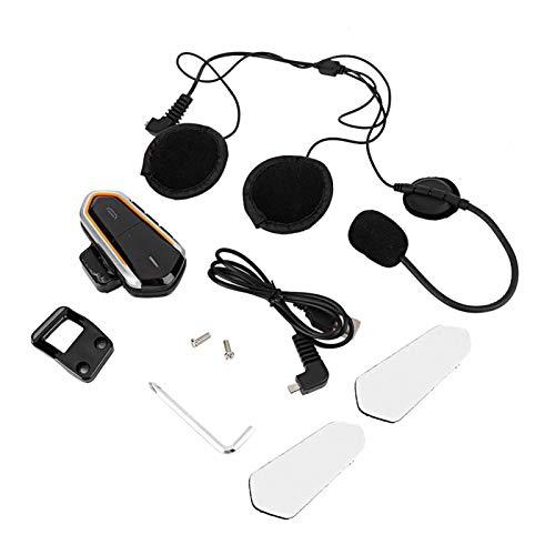 Bediffer Intercomunicador Auriculares Manos Libres Auriculares prácticos para una conducción Relajada para Mejorar la Apariencia