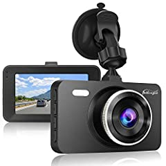 🚗SUPER NIGHT VISION AND WDR TECHNOLOGY:Infrared Sensor with LED Light with High Quality Image During Night. It is designed with super big aperture and Wide Dynamic Range, so when driving in the evening with one dash cam,which will be safer and reliab...