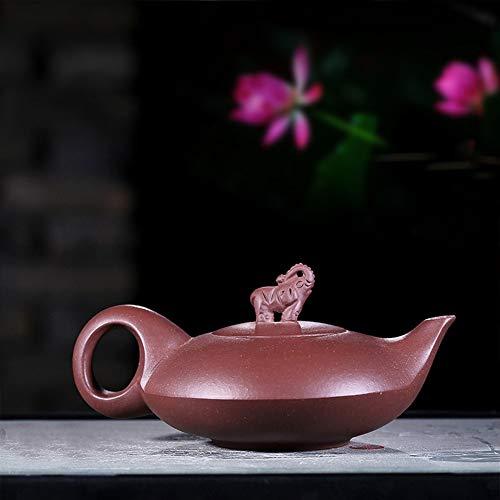 SHENLIJUAN Teekannen berühmte Hand Erz lila Tontopf verheißungsvolle Gitarre wie eine Teekanne Tee (Size : Purple mud)