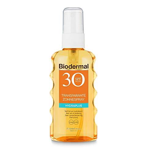 Biodermal zonnebrand Hydraplus Transparante Spray SPF30 - 175ml