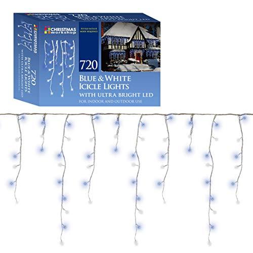 Luci di Natale LED, striscia per effetto ghiaccio, a LED