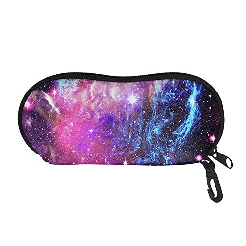 Renewold Funda para gafas de sol para mujer, hombre y niños, Galaxy Space elegante, bolsa organizadora portátil suave se adapta a la mayoría de gafas y gafas de sol bolsa de almacenamiento