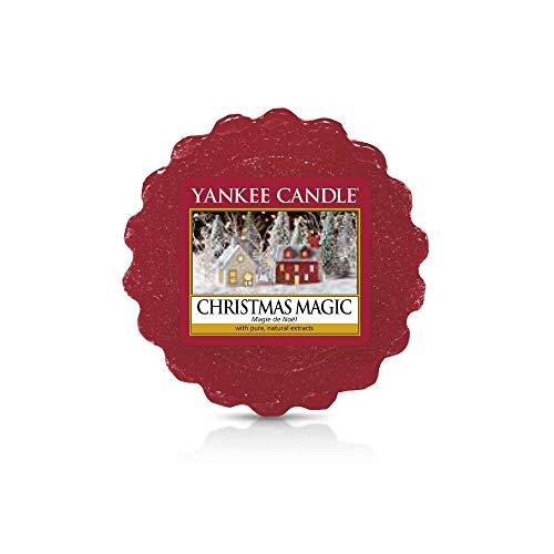 Yankee Candle Tarts Tealight Candles, Wax, Christmas Magic, 8.4 x 6.1 x 1 cm