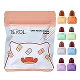 DKaony 8 Mini Set Lápiz Labial líquido Mate Set 8 Colores Niebla Lápices labiales duraderos Impermeables Set de pintalabios Candy