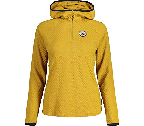 Maloja Damen Grassellam. Sweatshirt, Golden Sun, S