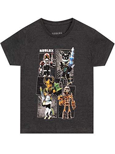 Roblox Jungen T-Shirt Gaming Grau 128