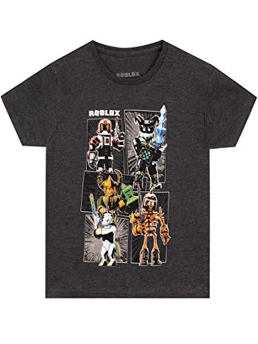 Roblox Jungen T-Shirt Gaming Grau 158