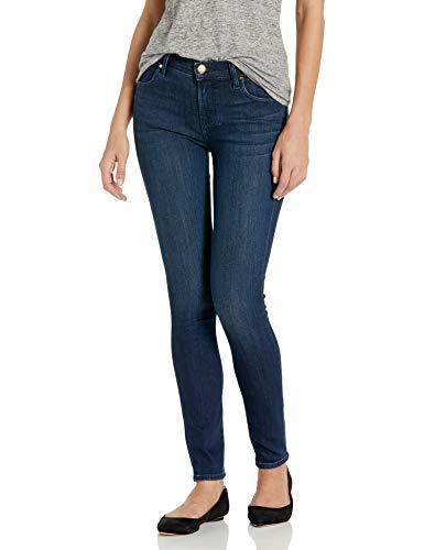 NEU Damen Hose Dark Blau Stretch Denim L34 38 Arizona Skinny Jeans Lang-Gr.76