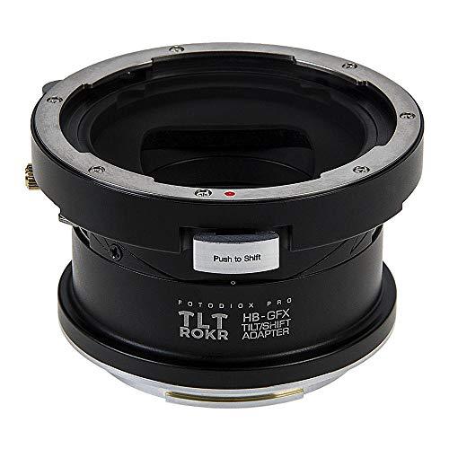 Fotodiox Pro TLT ROKR - Tilt/Shift Lens Mount Adapter Compatible with Hasselblad V-Mount SLR Lenses to Fuji G-Mount GFX Mirrorless Camera Body