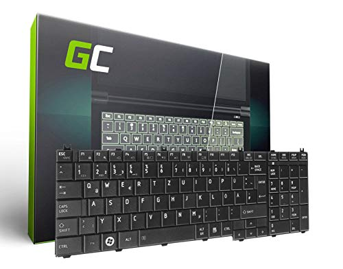 Green Cell® Toshiba Satellite C660-2NK Laptop Tastatur für Toshiba DE QWERTZ NEU