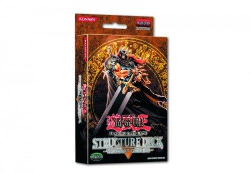 Konami 43873 Yu-Gi-Oh! Warrior's Triumph, Structure Deck - Baraja de cartas (instrucciones en alemán)