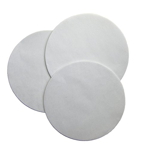 Regency Wraps 9 Parchment Paper Liners for Round Cake Pans 9 inch Diameter, 24 Pack, 9, White