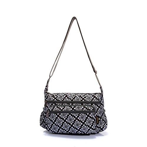 Sincere® sac de la personnalité de la mode féminine Moyen-âge / Messenger / sac bandoulière-10