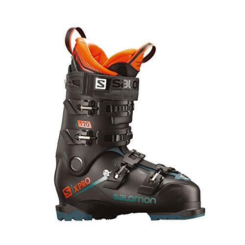 SALOMON - X Pro 120 Chaussure De Ski Homme Black/Blue/Orange - Black/Blue/Orange - 26.5 - Black/Blue/Orange