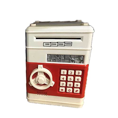 OMKMNOE Money Box Kids, Money Box Contraseña Piggy Bank Toys Cash Register Bill Monedas Regalos,1
