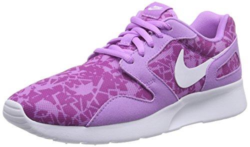 Nike Kaishi Print, Baskets Basses Femme, Viola Violett Fuchsia Glow White Fuchsia Flash, 38.5 EU