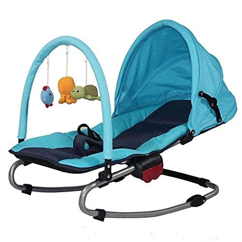Silla de balancín infantil, silla de swing de bebé reclinable reclinable reclinable reclinable Cuna plegable para recién nacido WDH666